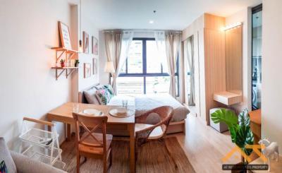For RentCondoBangna, Lasalle, Bearing : Ideo O2 Studio for rent, size 27 sq.m., near BTS Bangna