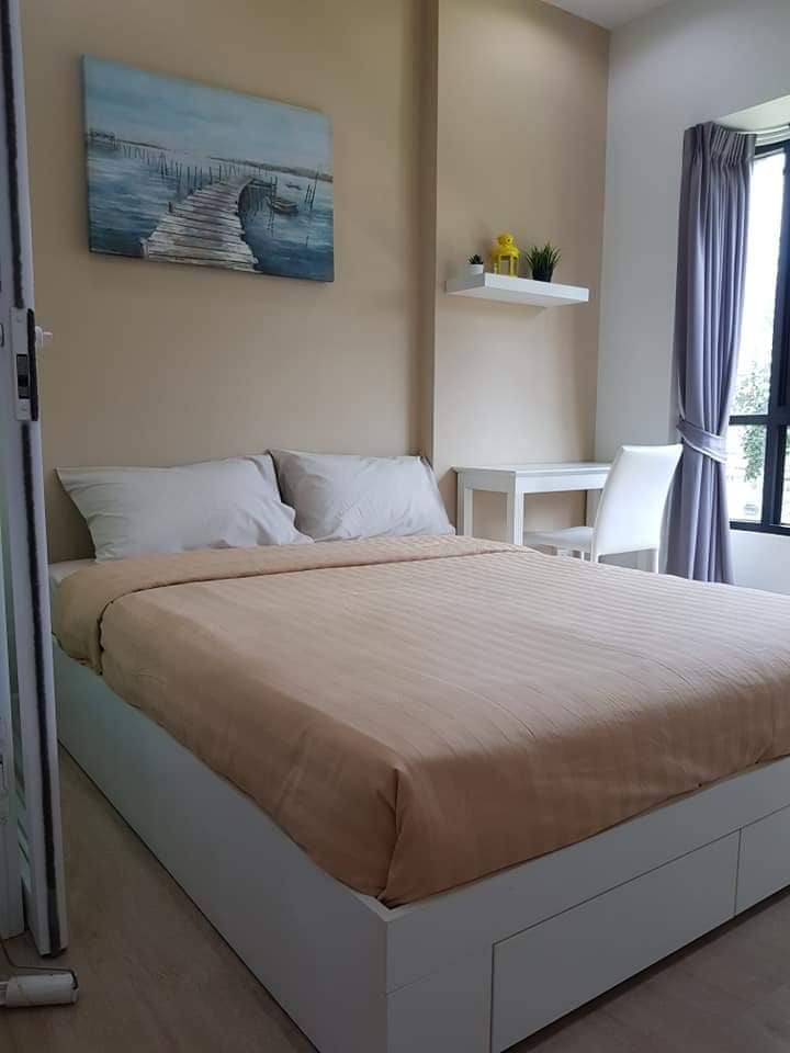 For RentCondoPattanakan, Srinakarin : For rent S1 Condo Rama 9 furniture + appliances.