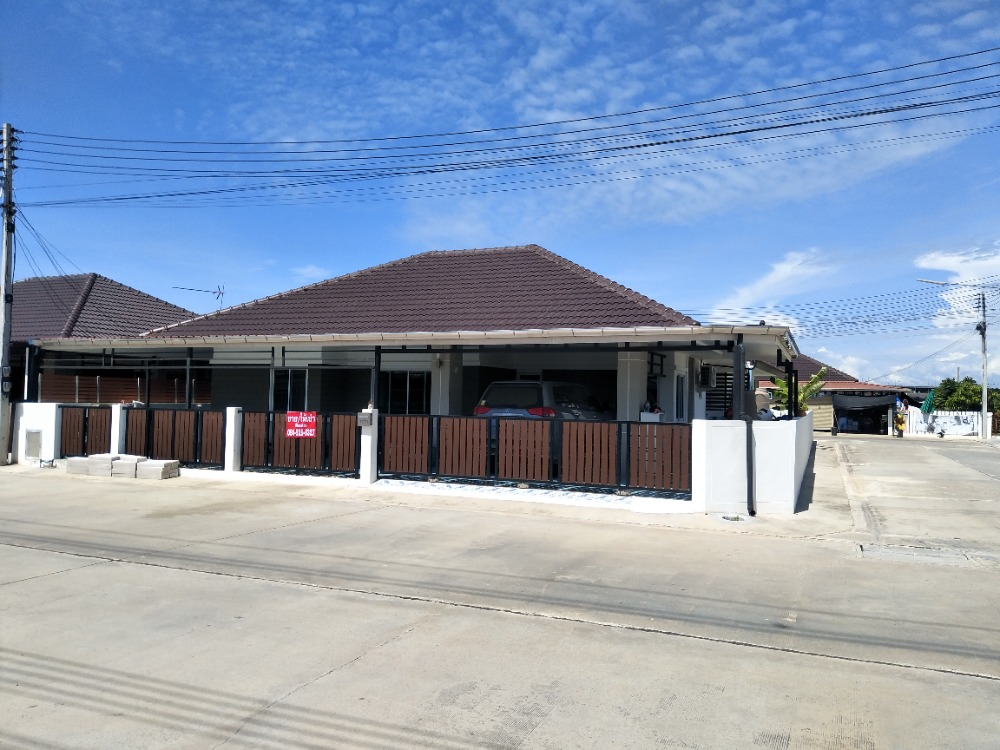 For SaleHouseChachoengsao : House for sale, Bang Pakong District