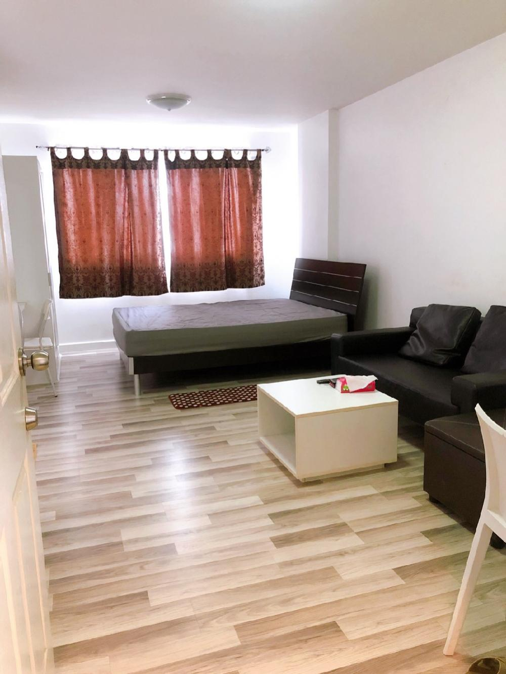 For RentCondoNawamin, Ramindra : 🏢 For rent, D Condo Ramindra, next to the expressway, good location, convenient transportation, beautiful room with complete furniture, price only 7,000 / month 📌📌