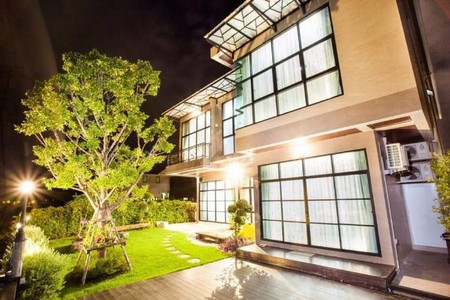 For SaleHouseRangsit, Patumtani : 2 storey detached house for sale, Chuan Chuen Golf Avenue - Pathum Thani With furniture Can go in