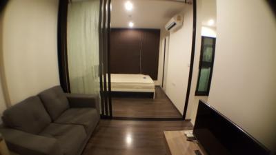 เช่าคอนโดอ่อนนุช อุดมสุข : ให้เช่า The Base Park West 1 bedroom 26 sqm 25th floor THB 9,900.- only มีเครื่องซักผ้า