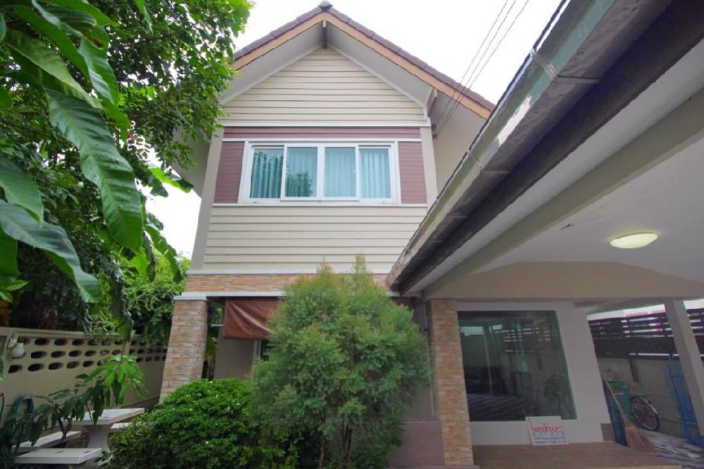 For SaleHouseRamkhamhaeng, Hua Mak : House for sale Sammakorn Ramkhamhaeng Sukhapiban 3 63 sq.w.