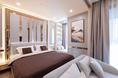For RentCondoSiam Paragon ,Chulalongkorn,Samyan : ✅ For Rent ** Ashton Chula Silom, 1 bedroom high floor, very beautiful decoration. Ready to move in **