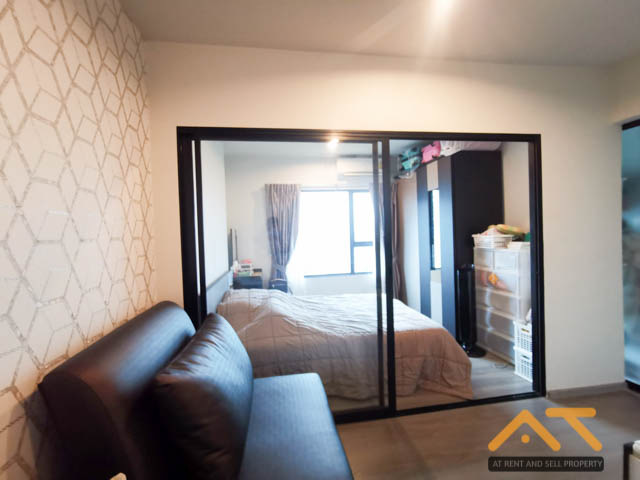 For SaleCondoThaphra, Wutthakat : For sale Aspire Sathorn - Taksin (Copper Zone) 1 bedroom, size 27 sq m, beautiful room, fully furnished.