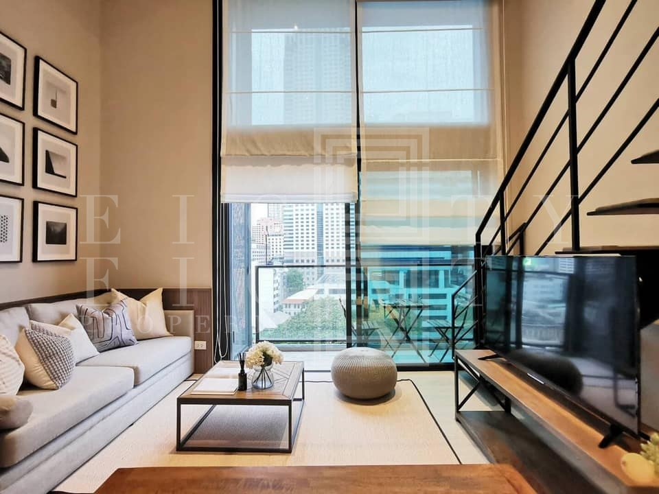 For RentCondoSilom, Saladaeng, Bangrak : For Rent The Lofts Silom (35 sqm.)