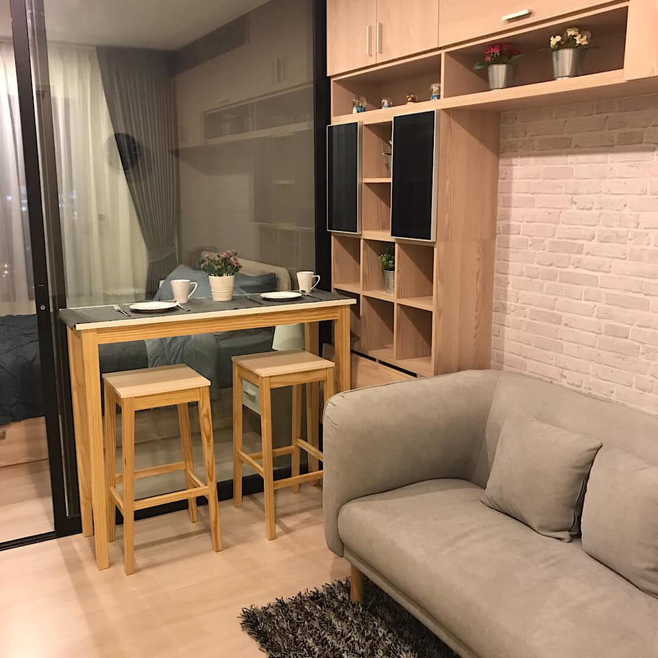 For RentCondoRama9, RCA, Petchaburi : Condo for rent Life Asoke (Life Asoke) new room 🎉