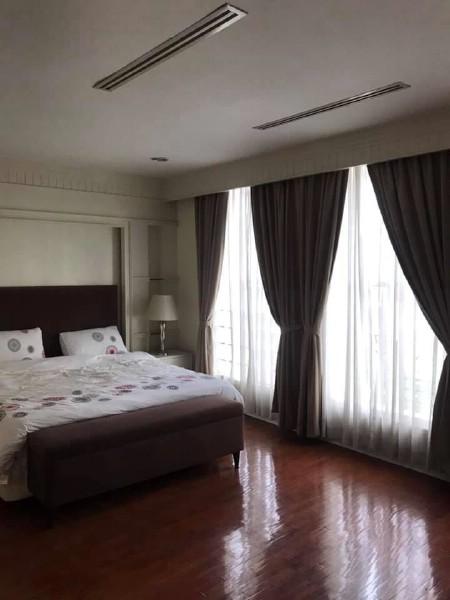 For RentTownhouseSukhumvit, Asoke, Thonglor : 4.5 storey townhome for rent, Baan Klang Krung - Thonglor Village, Baan Klang Krung Thonglor, Sukhumvit 55, size 380 sq.m., near BTS Thonglor, JA Avenue, Emporium, Emquartia, Terminal 21 Major. identical Benjasiri Park and Expressway