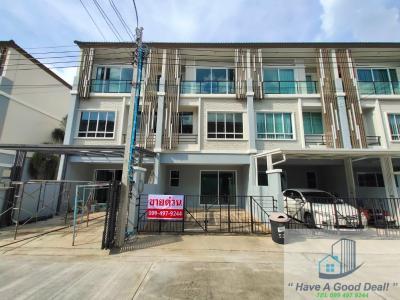 For SaleTownhouseChengwatana, Muangthong : Townhouse 3 floors, 18.7 square meters, The Plant Citi Chaengwattana