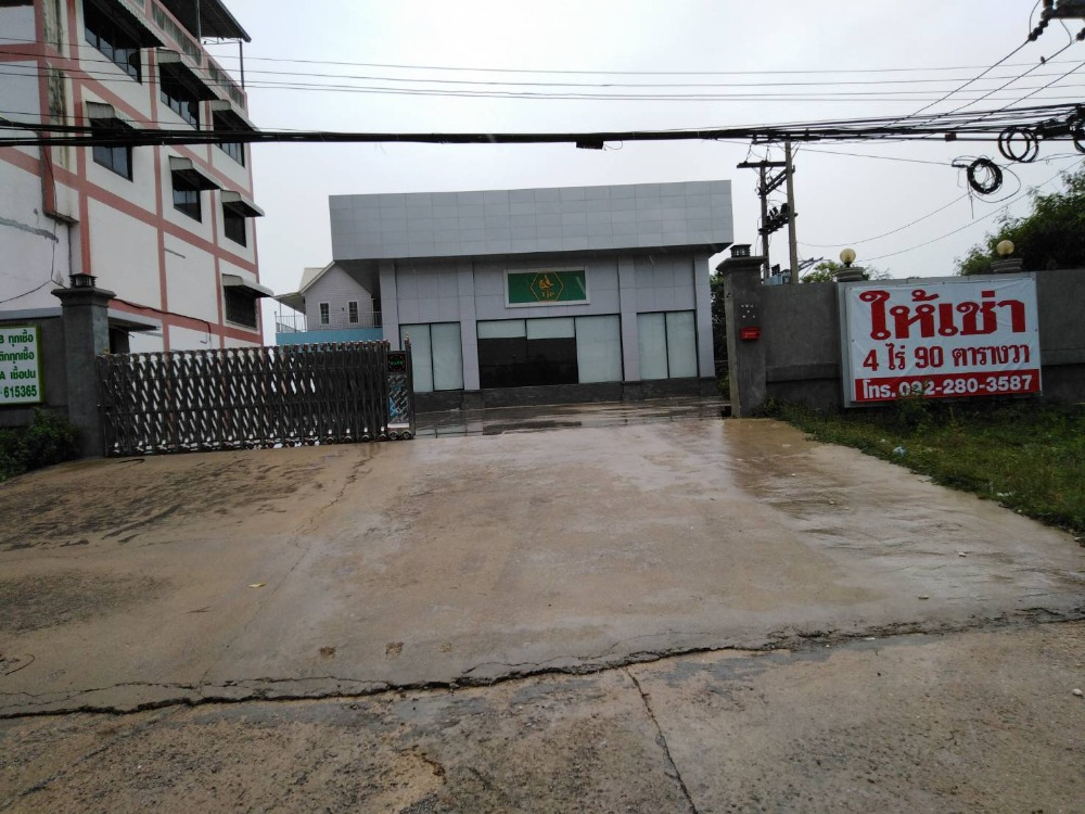For RentFactoryRatchaburi : Factory for rent in Ratchaburi, good location land, suitable for factory business