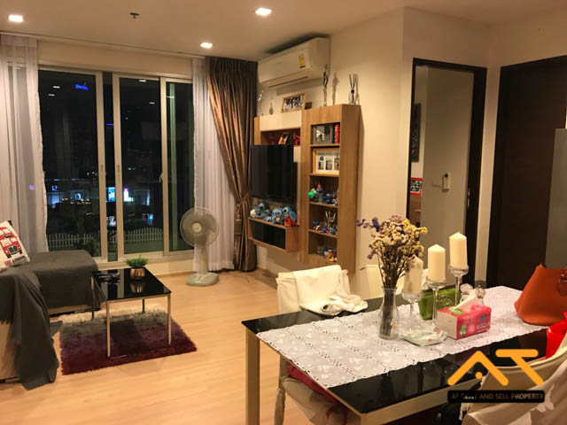 For RentCondoSathorn, Narathiwat : For rent, Rhythm Sathorn, 2 bedrooms, 2 bathrooms, size 64 sq.m., beautiful room, near BTS Saphan Taksin