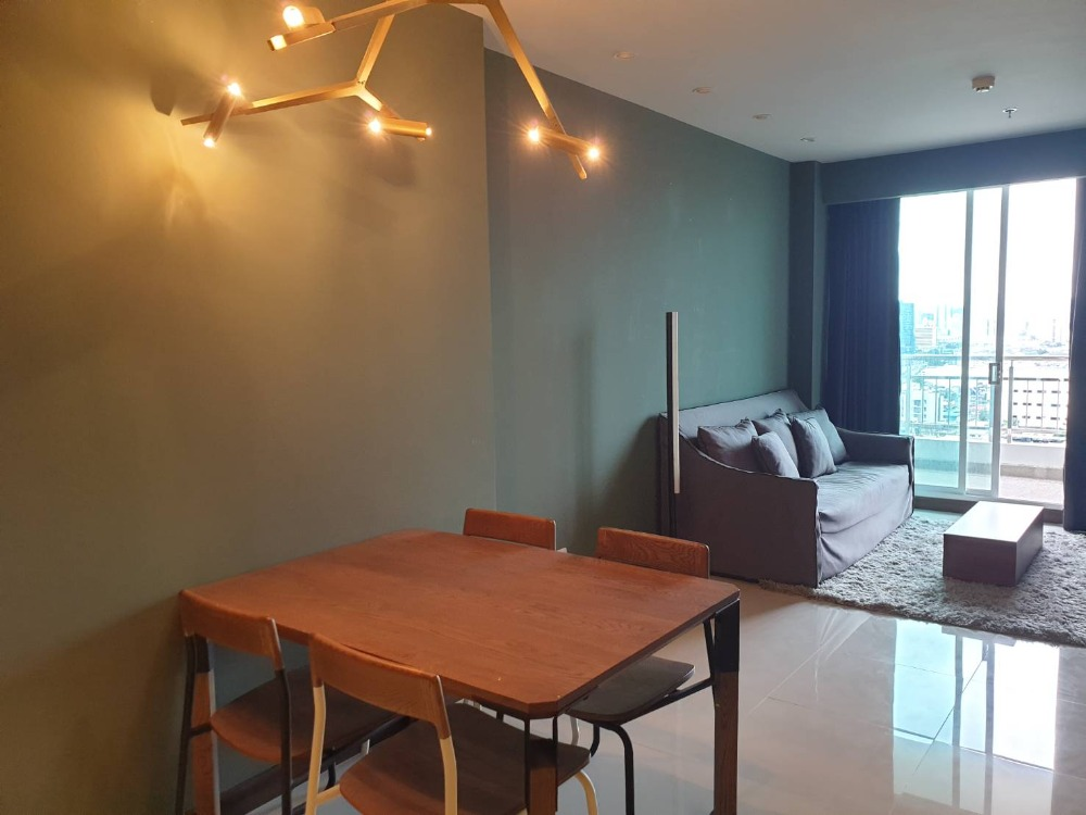 For SaleCondoRama3 (Riverside),Satupadit : Urgent sale, the best price in the building !! 1 bedroom, high floor, river and city view, new room, never rented Move in immediately !!