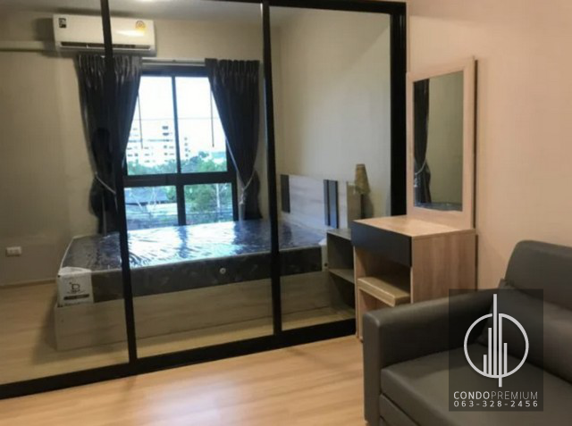 For RentCondoChengwatana, Muangthong : For rent Plum Condo Chaengwattana Station New Phase Ready to move in