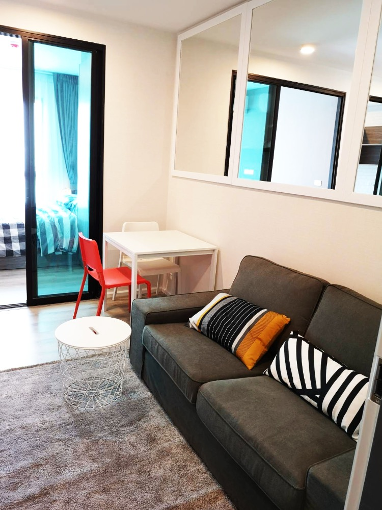 For SaleCondoBangna, Lasalle, Bearing : 1 bedroom for sale, beautiful decoration in Building A !!!!!