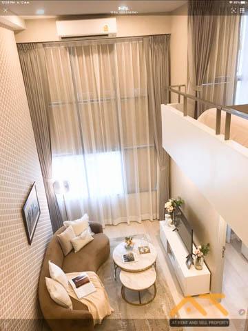For RentCondoSathorn, Narathiwat : For rent: KnightsBridge Prime Sathorn duplex, size 44 sq.m., Duplex room, near BTS Chong Nonsi