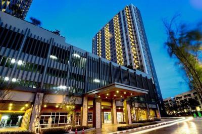 For RentCondoRama9, RCA, Petchaburi : 1389-A😊 For RENT ให้เช่า 1 ห้องนอน🚄ใกล้ MRT เพชรบุรี เพียง 6 นาที ( 2.6 ก.ม. )🏢ลุมพินี พาร์ค พระราม 9 - รัชดา Lumpini Park Rama 9 - Ratchada🔔พื้นที่:31.50ตร.ม.💲เช่า:12,000.-บาท📞:099-5919653✅LineID:@sureresidence