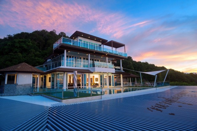 For SaleHouseSamui, Surat Thani : For Sale Super Luxury Villa in Koh Samui Island with panorama gorgeous view