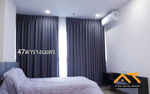 For RentCondoPinklao, Charansanitwong : Condo for rent, Condo Supalai Loft, Torch intersection station - large room near Siriraj Hospital
