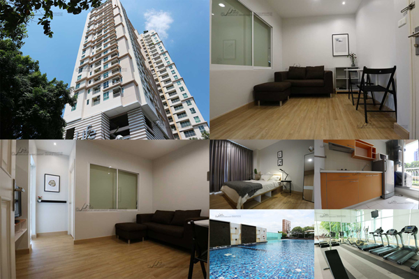 For RentCondoOnnut, Udomsuk : Condo for rent >>> Life @ Sukhumvit 6th floor