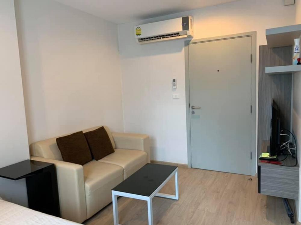For RentCondoThaphra, Wutthakat : C47 Condo for rent, Ideo Sathorn-Thapra (with electric stove + hood, Building B, 2nd floor)