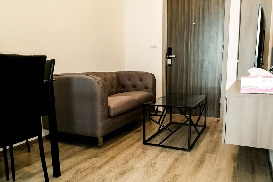 For RentCondoOnnut, Udomsuk : For rent: Knightsbridge Prime Onnut, New room, Kitchen, fully furnished, Ready to move in!!