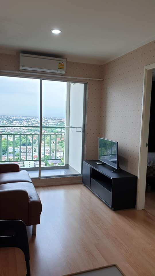 For RentCondoBang Sue, Wong Sawang : Condo for rent Lumpini Ville Prachachuen - Phongphet 2 large room near The Mall Ngamwongwan
