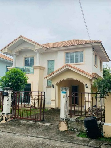 For RentHouseRama 2, Bang Khun Thian : RH444 House for rent, 3 bedrooms, 2 bathrooms, Pruksa Village 6 Village near Thian Thale Police Station.