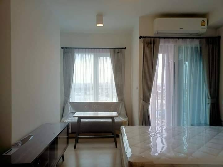 For RentCondoRatchadapisek, Huaikwang, Suttisan : Condo for rent Chapter One Eco Ratchada-Huai Khwang Ready to move in Fully furnished [For rent Chapter One Eco Ratchada-Huaykwang]