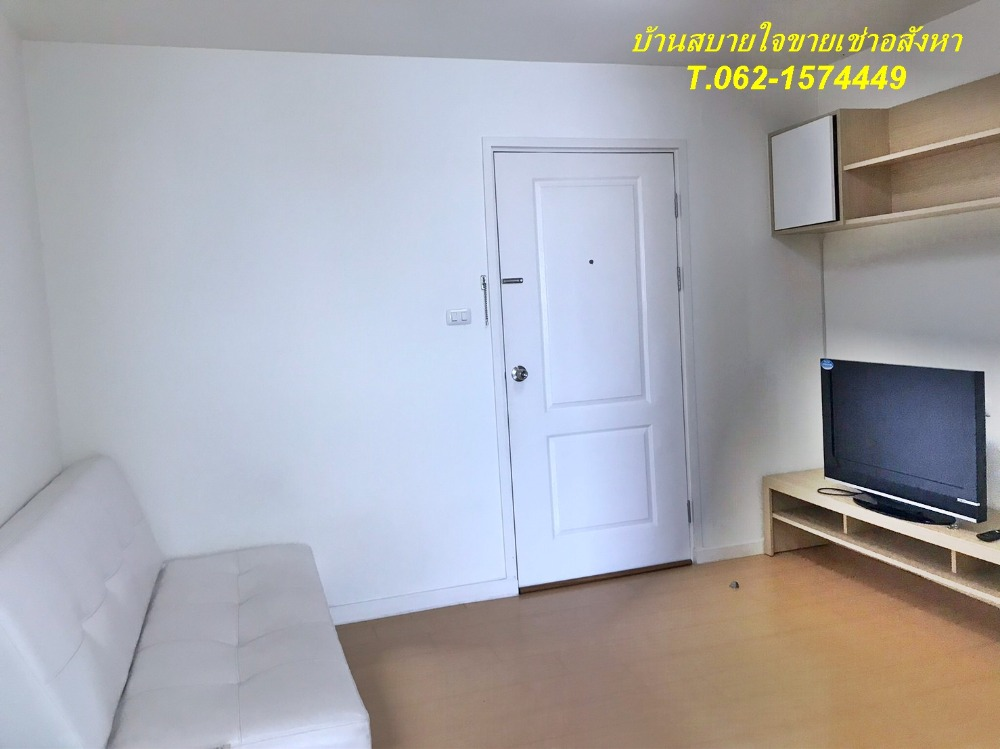 For RentCondoRamkhamhaeng Nida, Seri Thai : New condo for rent near Nida, fully furnished, ready to move in. T.062-1574449