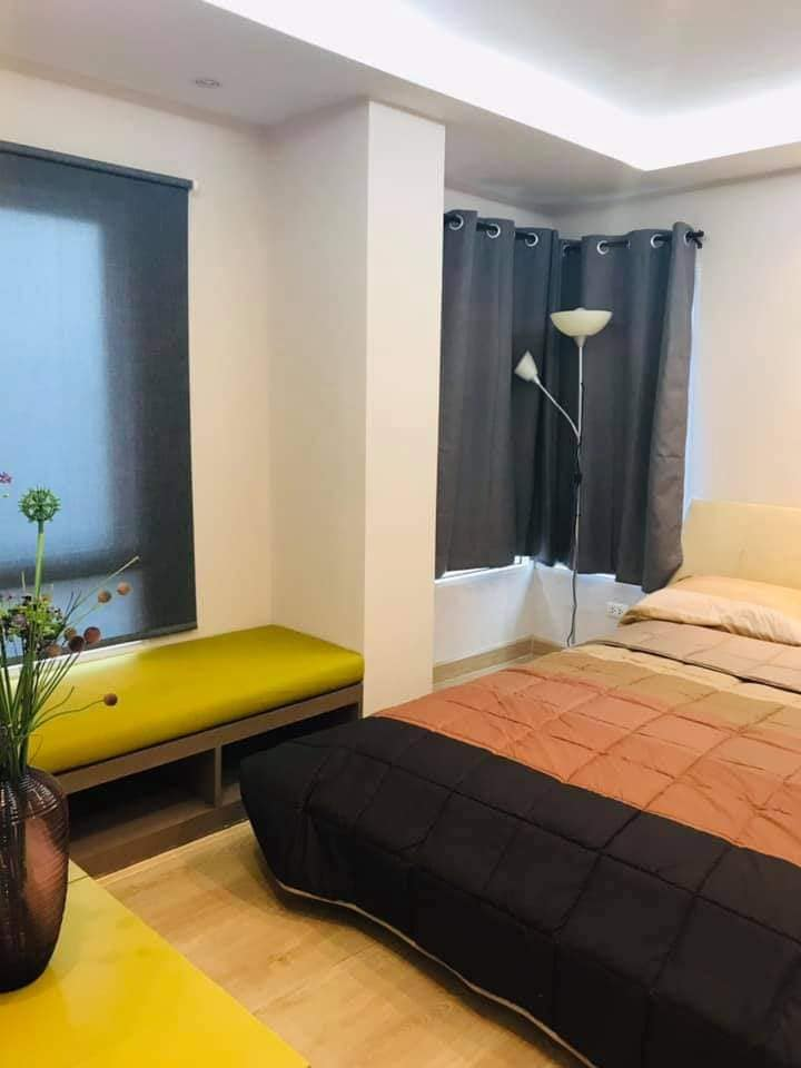 For SaleCondoRatchadapisek, Huaikwang, Suttisan : Sale Happy Condo Ratchada 18, newly renovated rooms, fully furnished, unblocked view