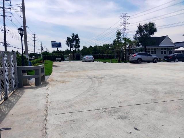 เช่าที่ดินรัตนาธิเบศร์ สนามบินน้ำ พระนั่งเกล้า : ให้เช่าพื้นที่ทำการค้าถนนเลียบคลองประปา ใกล้ถนนสรงประภา เหมาะกับหลายธุรกิจ ใกล้เมืองทอง