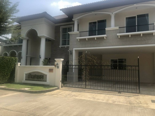 For RentHousePinklao, Charansanitwong : House for rent in Kanchanaphisek district, Taling Chan. Enrich Park Village Near Mahidol University