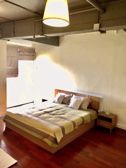 เช่าคอนโดสุขุมวิท อโศก ทองหล่อ : ให้เช่า The Lofts Ekkamai ห้องใหญ่ เพิ่งปรับปรุงใหม่ พร้อมเข้าอยู่
