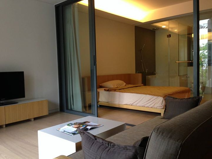 For RentCondoSukhumvit, Asoke, Thonglor : Condo for rent, Siamese Gioia, 1 bed 50 sqm., Near BTS Phrom Phong, beautiful design room, quiet, good security. Gives the feeling of being at home, very pleasant to live in