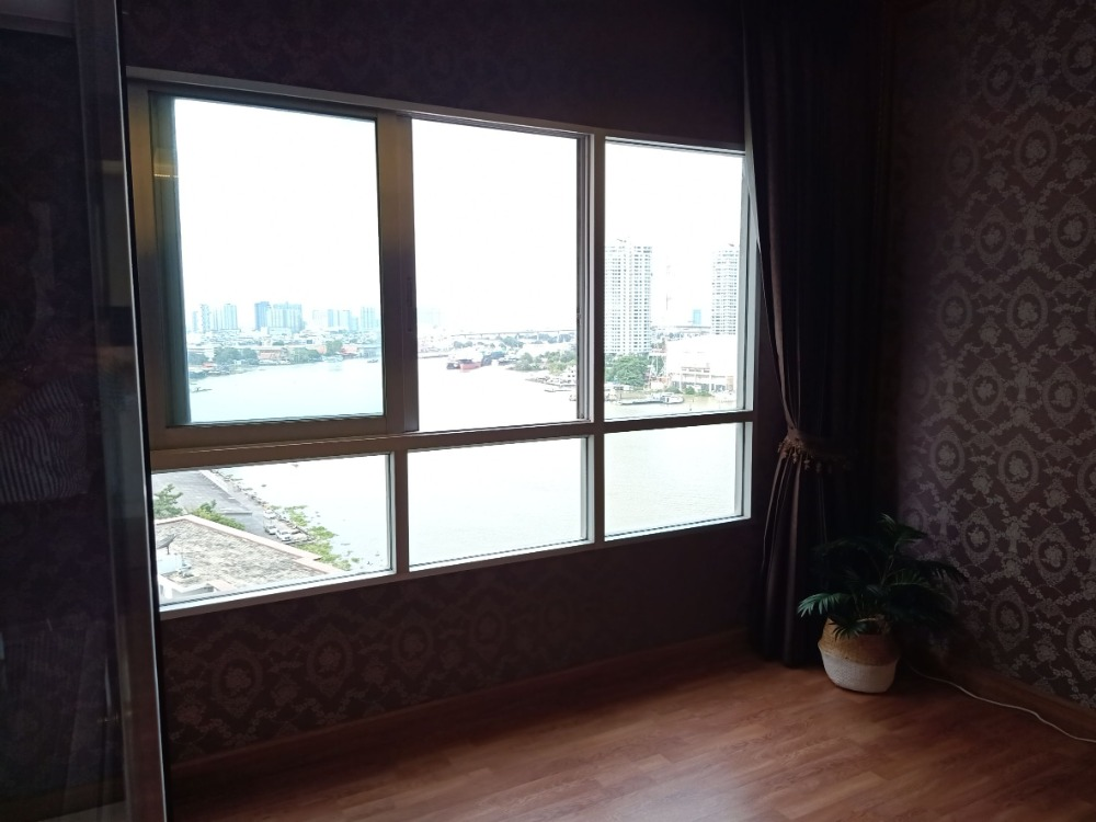 For SaleCondoRathburana, Suksawat : Condo for sale, river view room Most beautiful in the ivy river building