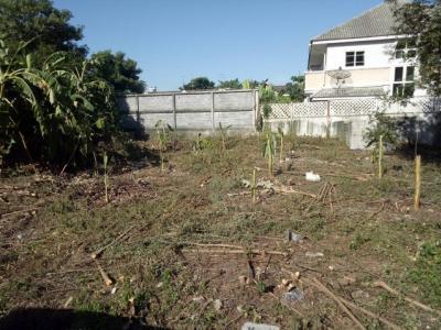 For SaleLandOnnut, Udomsuk : Land for sale, Soi Sukhumvit 101, area 111 sq.wa., near BTS Punnawithi
