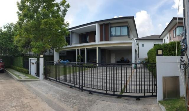 For RentHouseNakhon Pathom, Phutthamonthon, Salaya : 2 storey detached house for rent The Grand Pinklao, Phutthamonthon Sai 3, near Mahidol Salaya, Baan Mai, fully furnished