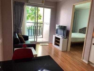 For RentCondoRama9, RCA, Petchaburi : Cheap Rent! Condo Lumpini Park Rama 9 - new room, fully furnished, near MRT, Pool Access room