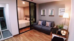 For SaleCondoOnnut, Udomsuk : Sale with tenant Rrgent Sukhumvit 81. 4th floor Garden and Pool view Conner unit Fully furnished and equipment