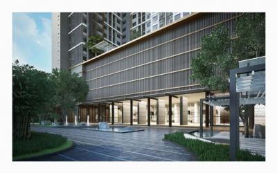 For RentCondoRama9, RCA, Petchaburi : [Rent] Condo for rent Life Asoke pool view.
