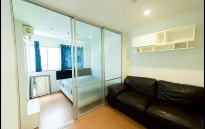 For SaleCondoBangna, Lasalle, Bearing : Condo for sale, LUMPINI Mega City Bangna, very cheap, only 1.22 million, size 24 sqm., Fully furnished, garden view