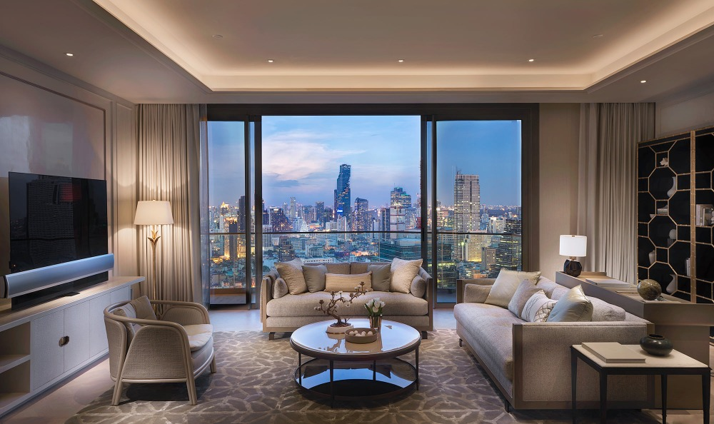 Sale DownCondoWongwianyai, Charoennakor : (Many units for sale) Sell 2 Bedroom The Residences at Mandarin Oriental, Bangkok