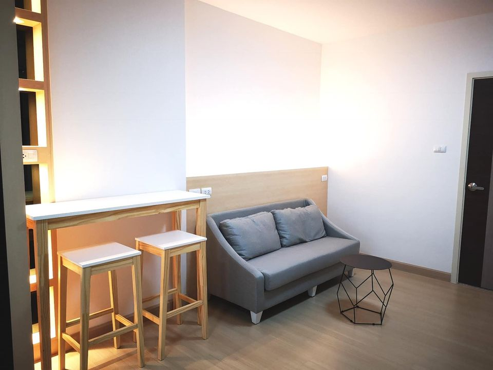 For RentCondoThaphra, Wutthakat : Condo for rent Supalai Loft @ Talat Phlu Station with furniture
