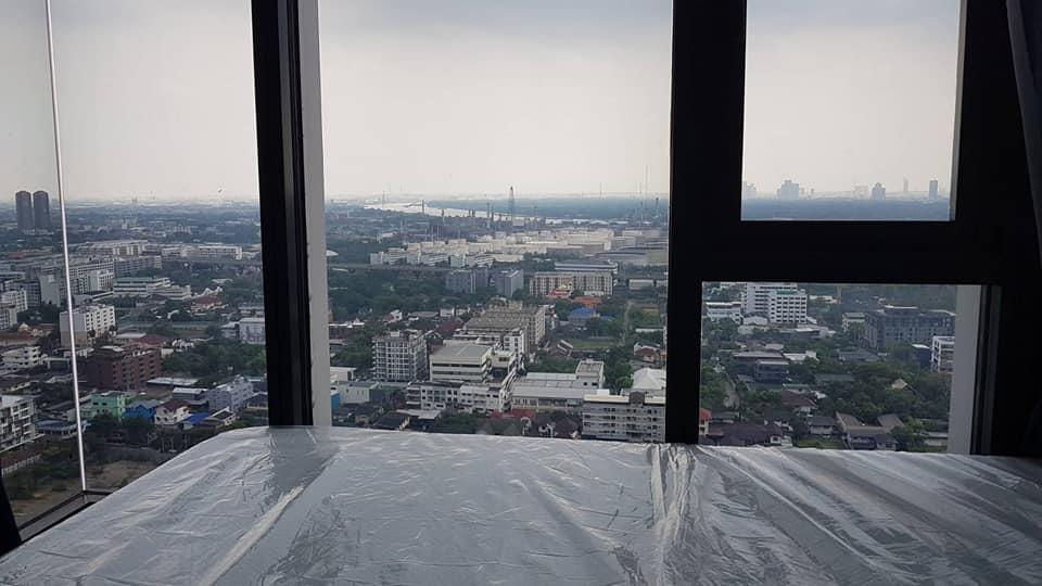 ขายคอนโดอ่อนนุช อุดมสุข : ขายด่วน! The Line Sukhumvit 101 วิวแม่น้ำ บางกระเจ้า ชั้นสูง 1 ห้องนอน แต่งครบ เพียง 3.85 ล้าน!
