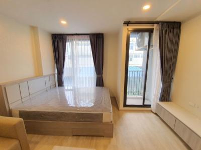 For RentCondoPha Nakorn, Yaowarat : For rent, Am China Town - Residences - near MRT Wat Mangkon Station 140 meters * 3 rooms available.