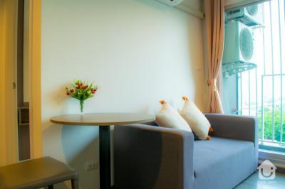 เช่าคอนโดสำโรง สมุทรปราการ : ให้เช่าคอนโด The Trust Condo @BTS Erawan ขนาด 1 ห้องนอน พร้อมเฟอร์นิเจอร์ครบ!