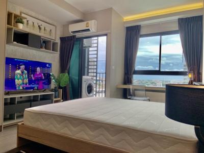 เช่าคอนโดอ่อนนุช อุดมสุข : For Rent IDEO Sukhumvit 93 ห้องสวย พร้อมอยู่!!!@24Agency แถมฟรีบัตร BTS/MRT