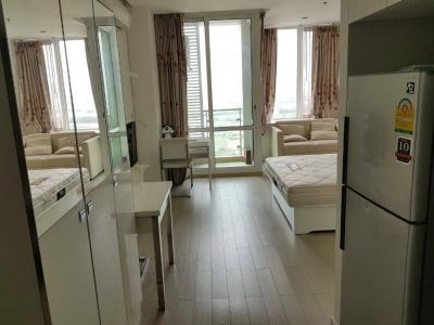 For SaleCondoRama9, RCA, Petchaburi : For sale, TC Green Rama 9 Condominium for 2 rooms with tenants.