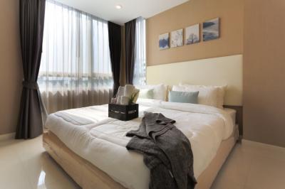เช่าคอนโดพัฒนาการ ศรีนครินทร์ : For rent Element Srinakarin Condo 2 bedroom 2 bathroom A/C 3 unit Fully furnish