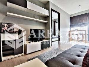 For RentCondoRama9, RCA, Petchaburi : For rent Rhythm Asoke Nearby MRT Phra Ram 9